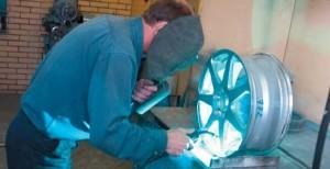 Статья о ремонте литых дисков
